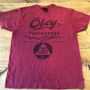 Obey Propaganda! Awesome Graphic T! Men's Large